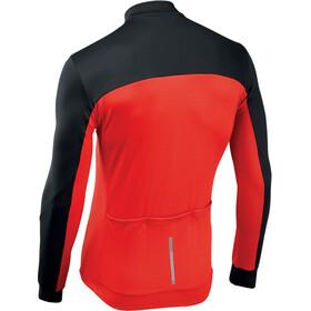Northwave Force 2 Fietsshirt lange mouwen Heren, black/red